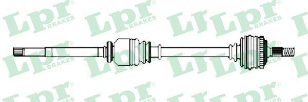 LPR Drive Shaft DS52231