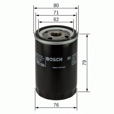 BOSCH Oil Filter 0 451 102 056