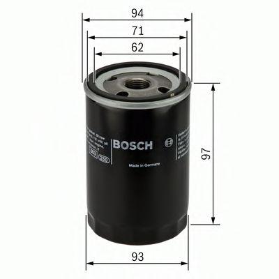 BOSCH Oil Filter 0 451 103 029