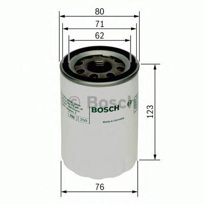 BOSCH Oil Filter 0 451 103 074