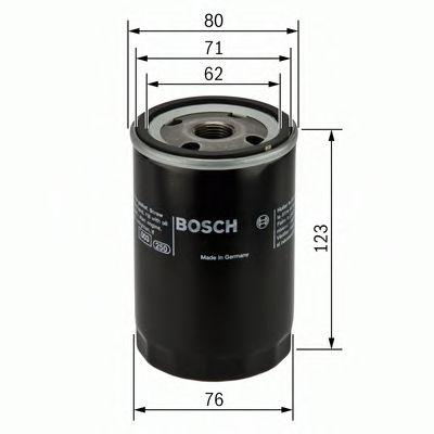 BOSCH Oil Filter 0 451 103 086