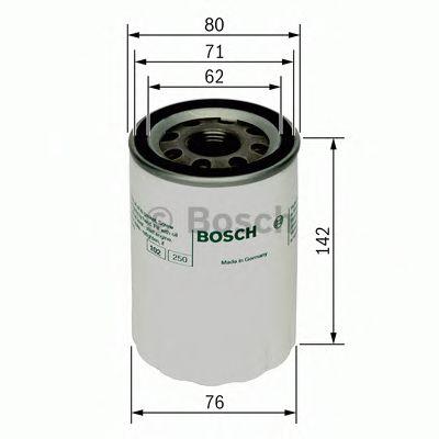 BOSCH Oil Filter 0 451 103 101