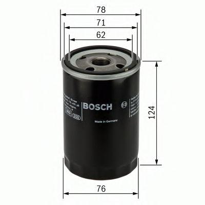BOSCH Oil Filter 0 451 103 105