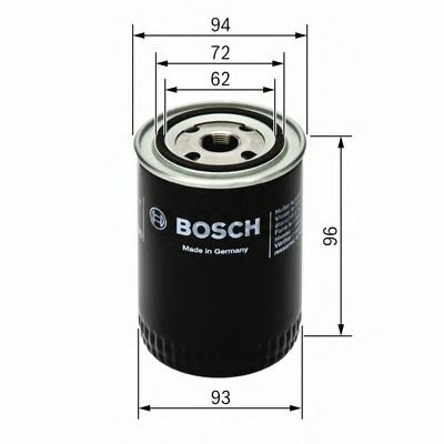 BOSCH Oil Filter 0 451 103 251