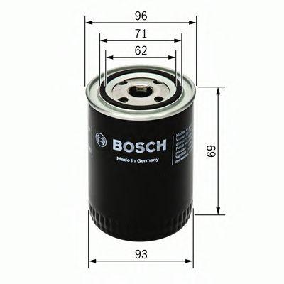 BOSCH Oil Filter 0 451 103 274
