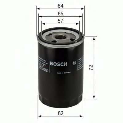 BOSCH Oil Filter 0 451 103 275