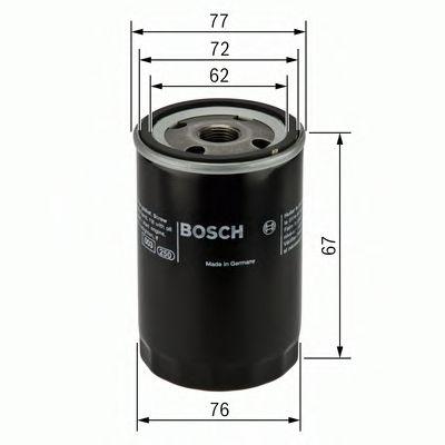 BOSCH Oil Filter 0 451 103 300