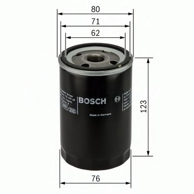 BOSCH Oil Filter 0 451 103 314