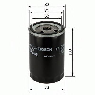 BOSCH Oil Filter 0 451 103 352
