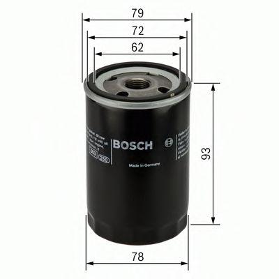 BOSCH Oil Filter 0 451 103 363