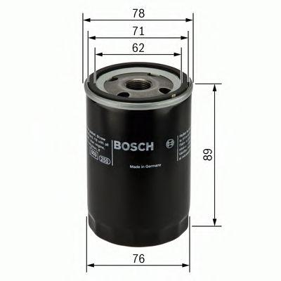 BOSCH Oil Filter 0 451 104 026