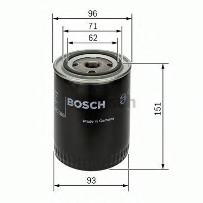 BOSCH Oil Filter 0 451 203 012