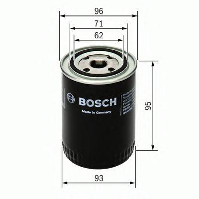BOSCH Oil Filter 0 451 203 154