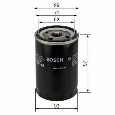 BOSCH Oil Filter 0 986 452 003