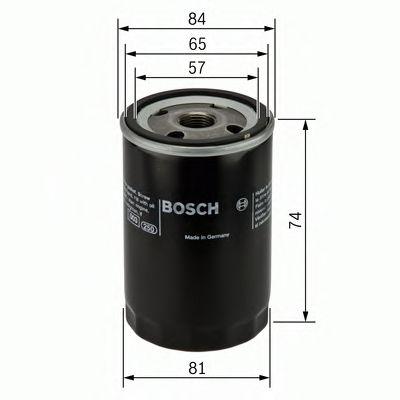 BOSCH Oil Filter 0 986 452 016