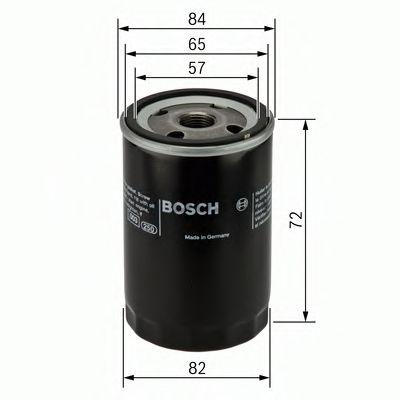 BOSCH Oil Filter 0 986 452 019