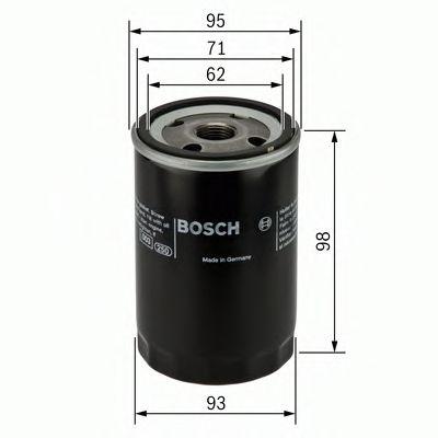 BOSCH Oil Filter 0 986 452 024