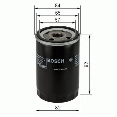 BOSCH Oil Filter 0 986 452 036
