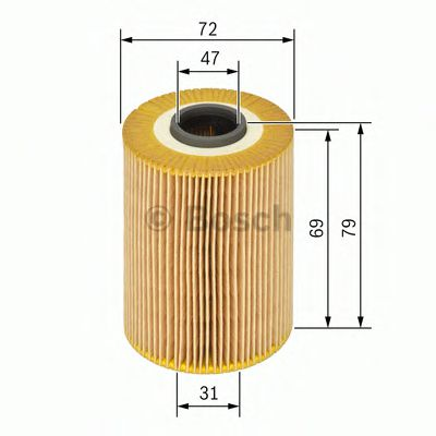 BOSCH Oil Filter 1 457 429 262