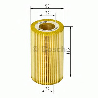BOSCH Oil Filter 1 457 429 272