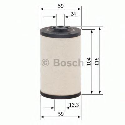 BOSCH Fuel filter 1 457 431 158