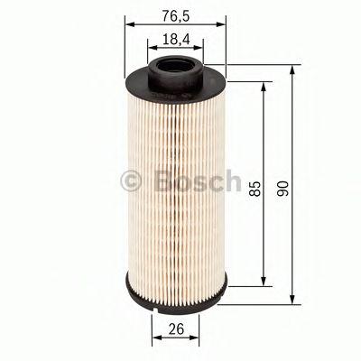 BOSCH Fuel filter 1 457 431 704