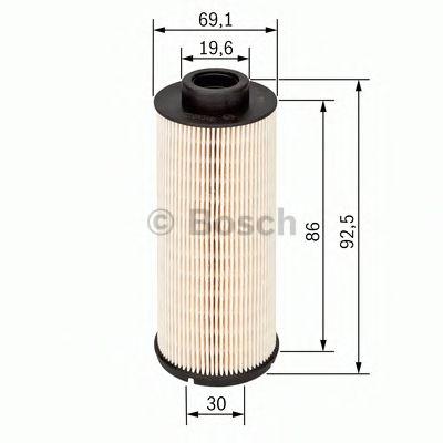 BOSCH Fuel filter 1 457 431 705