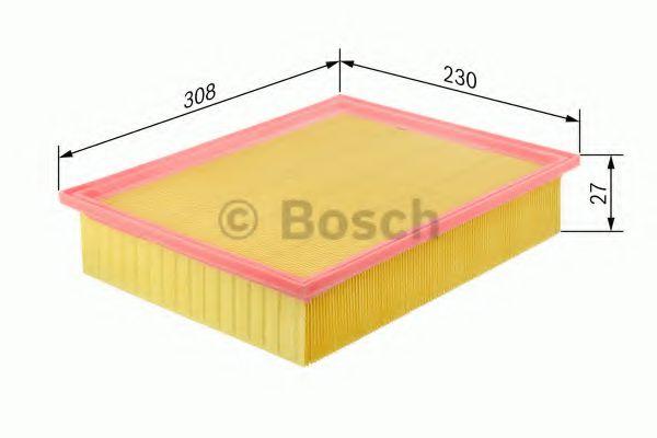 BOSCH Air Filter 1 457 433 007