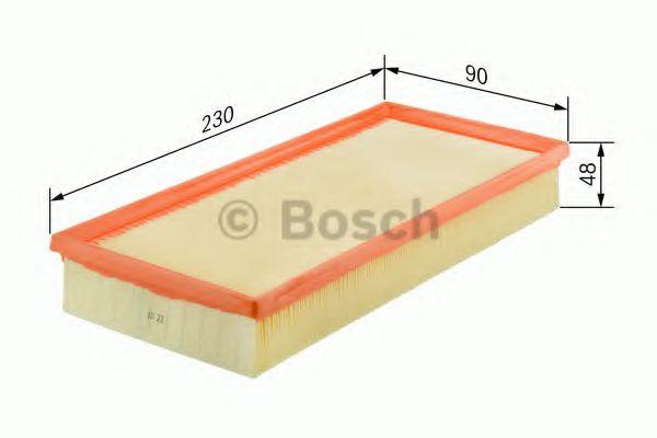 BOSCH Air Filter 1 457 433 255
