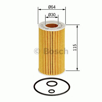 BOSCH Oil Filter 1 457 437 001