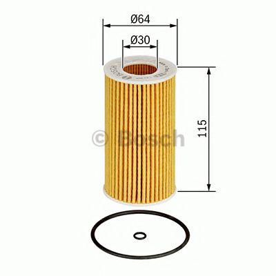 BOSCH Oil Filter 1 457 437 002