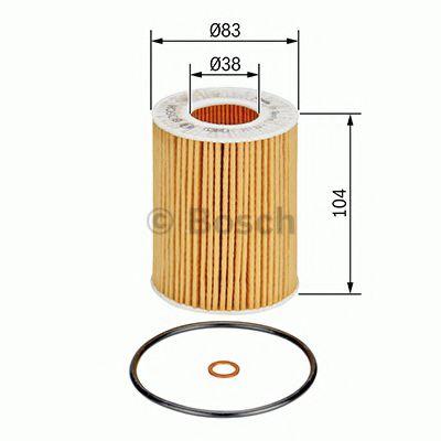 BOSCH Oil Filter 1 457 437 003