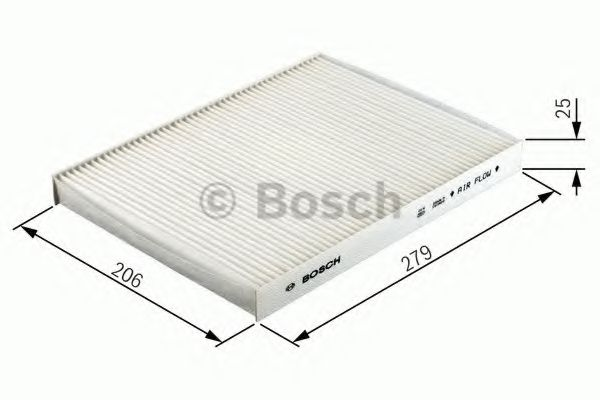 BOSCH Filter, interior air 1 987 432 012