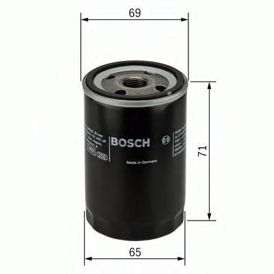 BOSCH Oil Filter F 026 407 001