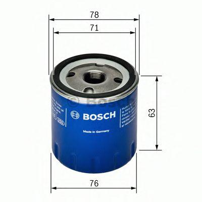 BOSCH Oil Filter F 026 407 022