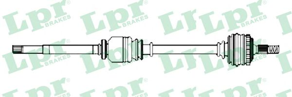 LPR Drive Shaft DS52231