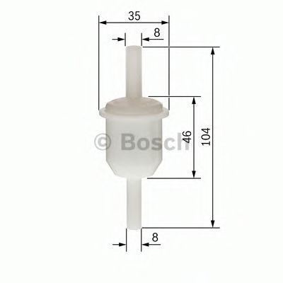 BOSCH Fuel filter 0 450 904 060