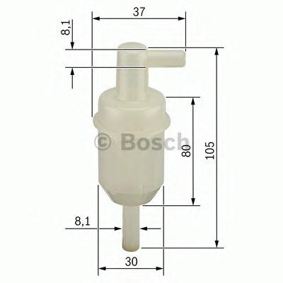 BOSCH Fuel filter 0 450 904 077